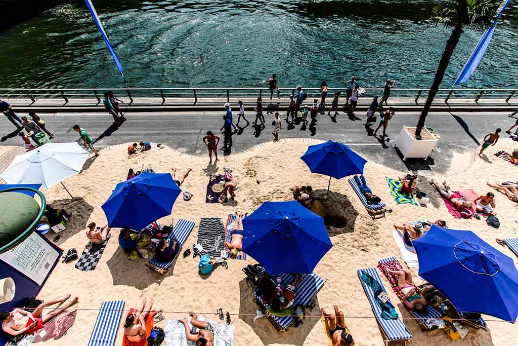 Beachbar Paris Quai de la Gare