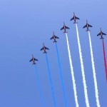 Patrouille de France Nationalfeiertag Paris 14 Juli