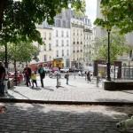 Place Emile Goudeau in Montmartre