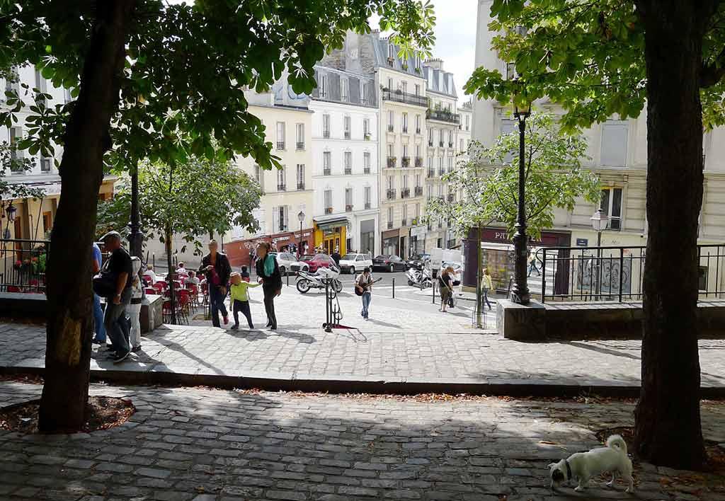 Place Dauphine in Paris Platz