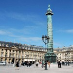 Place Platz Vendome in Paris