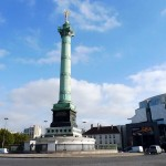 Place de la Bastille Platz Paris