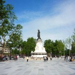 Place de la Republique-Platz-Paris