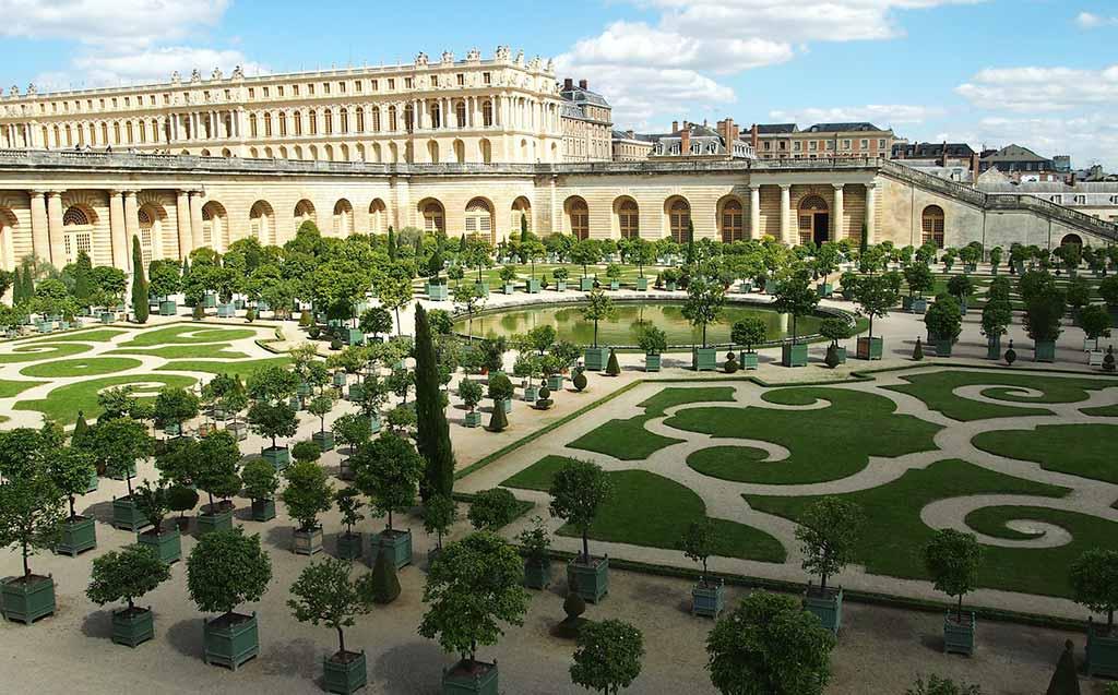 Schlosspark Garten Versailles