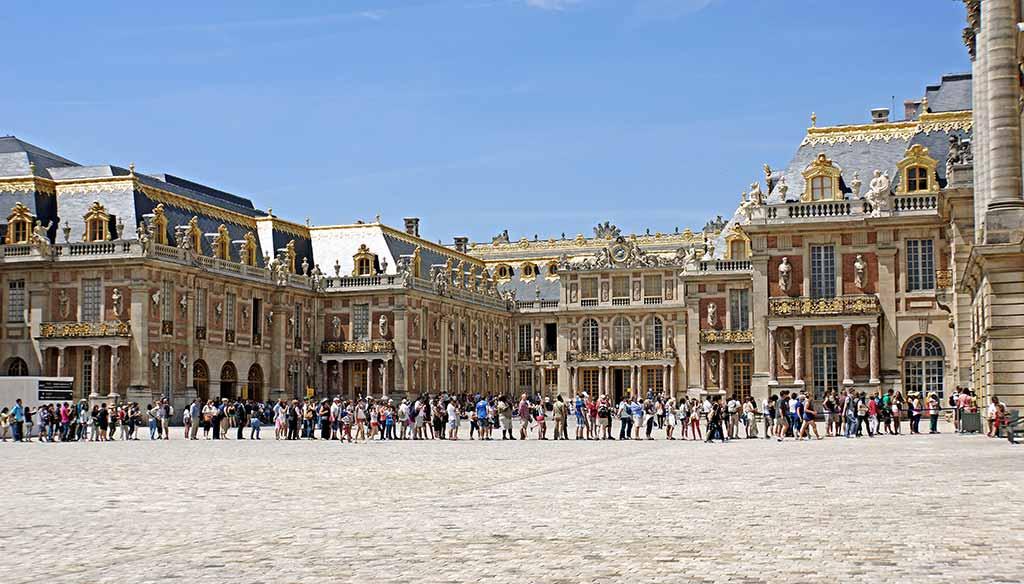 Wartezeiten in Versailles