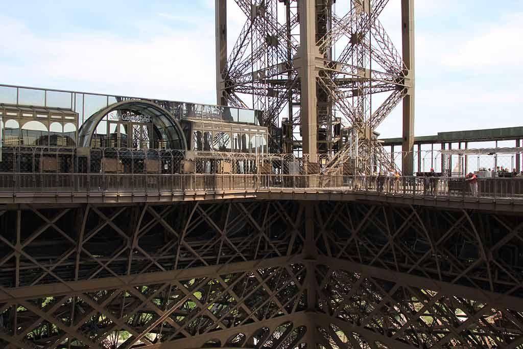 1 Stockwerk Eiffelturm Etage Hoehe