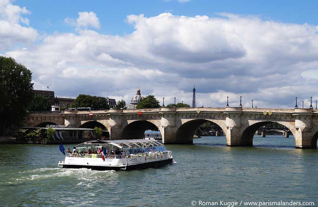 Batobus Paris Haltestellen Stationen