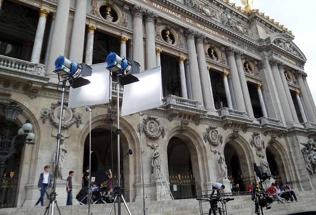 Filme die in Paris spielen Dreharbeiten Paris