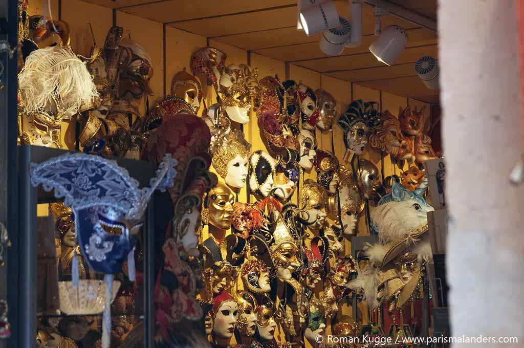 Masken Geschaeft Venezianisch Paris Ile Saint Louis
