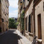 Romantische Strasse Paris Ile Saint Louis Romantischer Ort