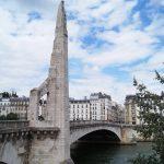 Statue Heilige Genoveva Sainte Genevieve Paris Ile Saint Louis