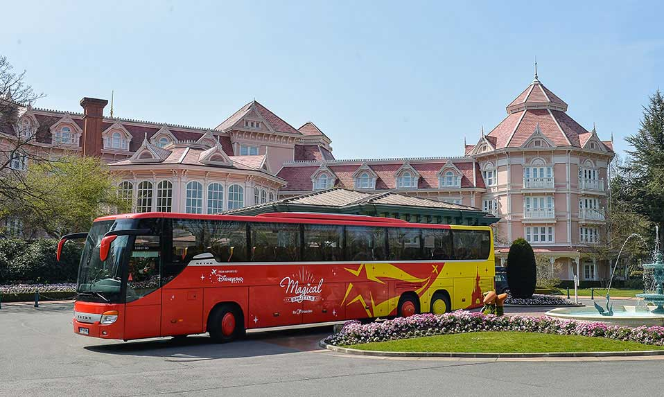 Flughafentransfer Disneyland Paris TGV