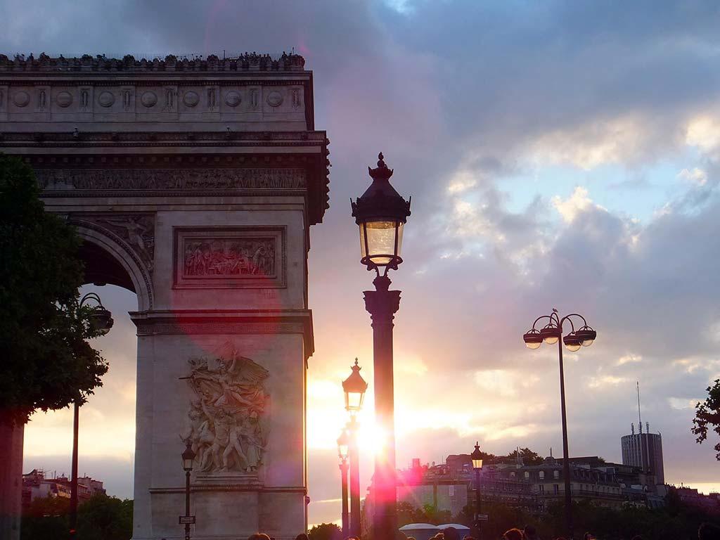Bild Triumphbogen Paris