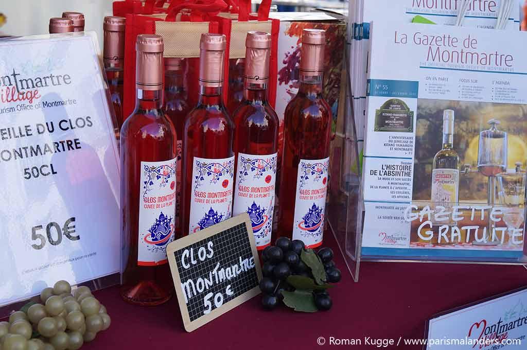 Wein von Montmartre Clos Montmartre