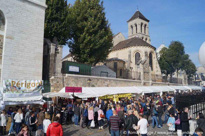 Weinfest Montmartre Fête des Vendanges