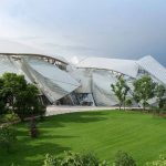 Louis Vuitton Fondation Gebäude Schiff