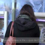 Taschendiebe Paris Geldautomat