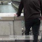 Taschendiebe Paris Trick Portemonnaie Hosentasche