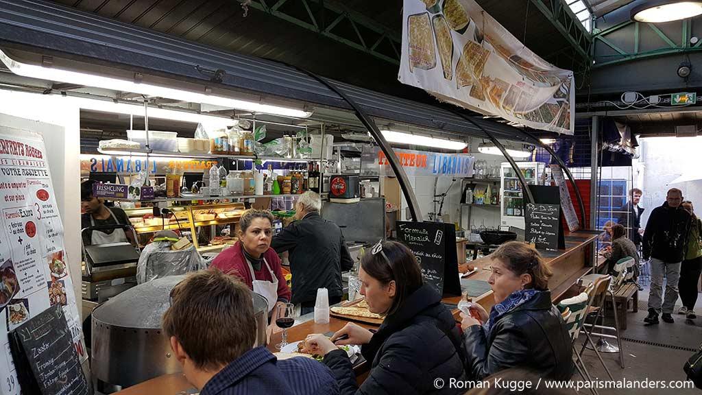 Markt Markthalle Marche des Enfants Rouges Paris (1)