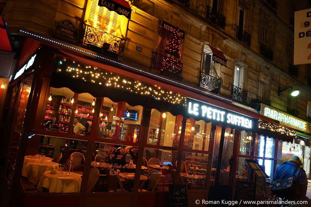 Restaurant Paris Weihnachten