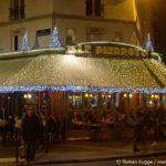 Terrasse Paris Weihnachten