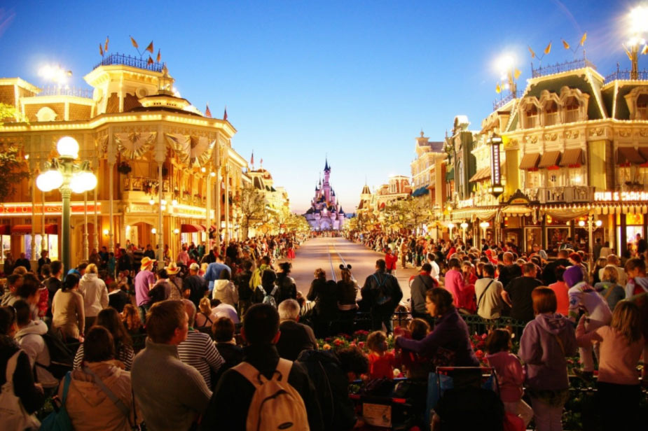 Weihnachten in Disneyland Paris