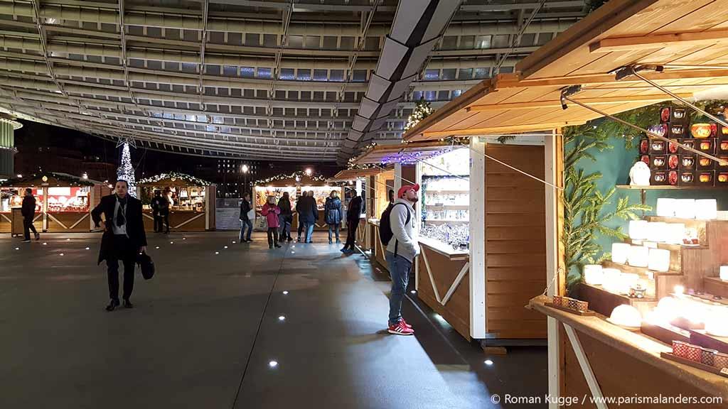 Weihnachtsmarkt Châtelet Forum des Halles