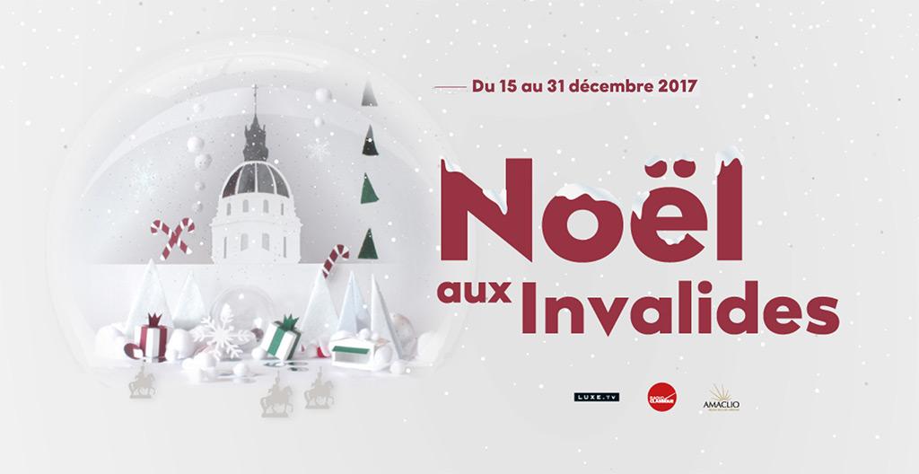 Weihnachtsmarkt Invalidendom Paris