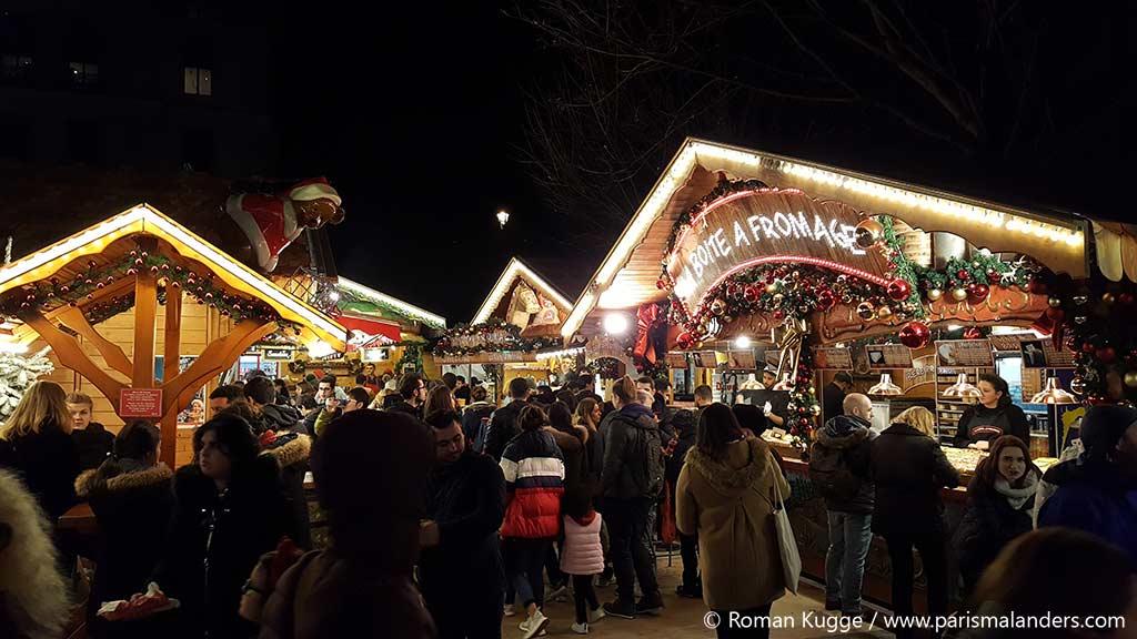 Weihnachtsmarkt Paris Tuileries Garten