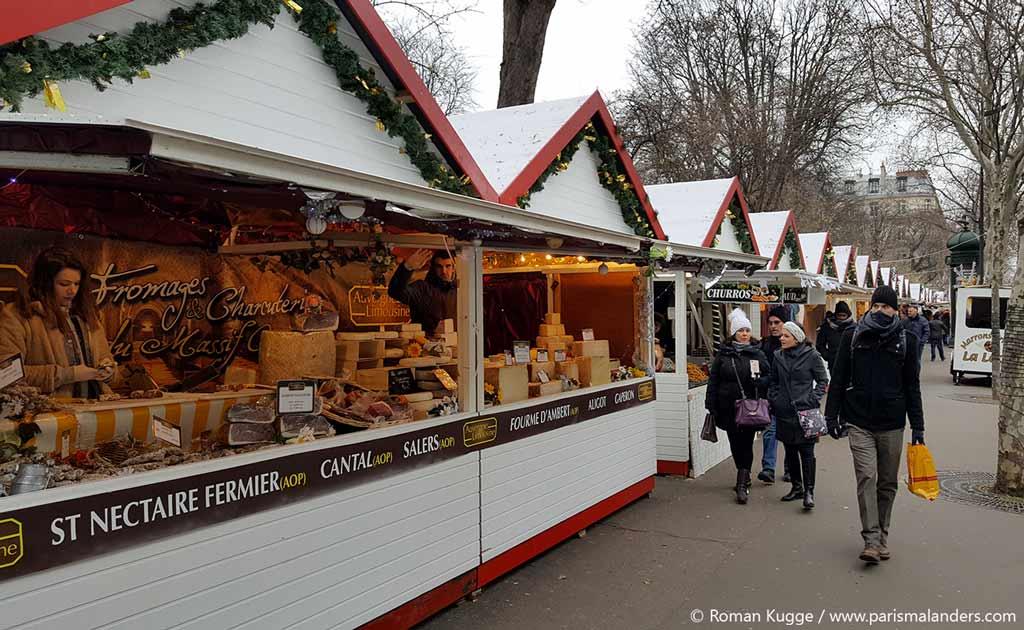 Weihnachtsmarkt Saint-Germain-des-Prés Paris