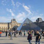 Louvre im Winter