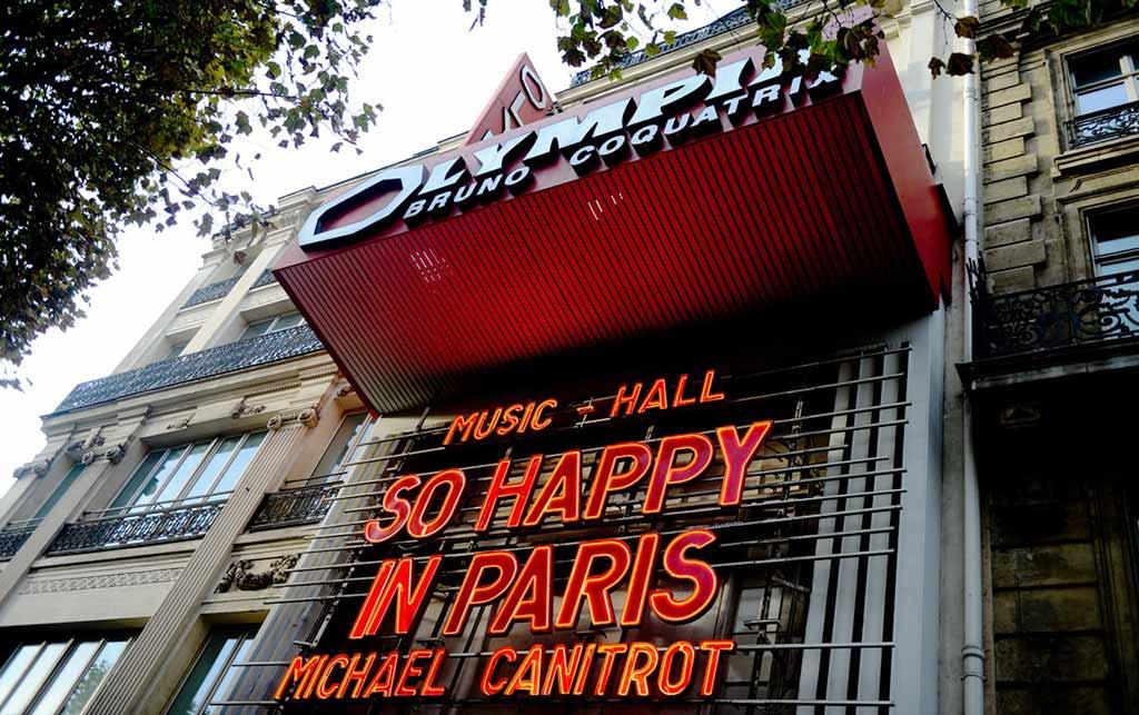 Olympia Konzertsaal Paris