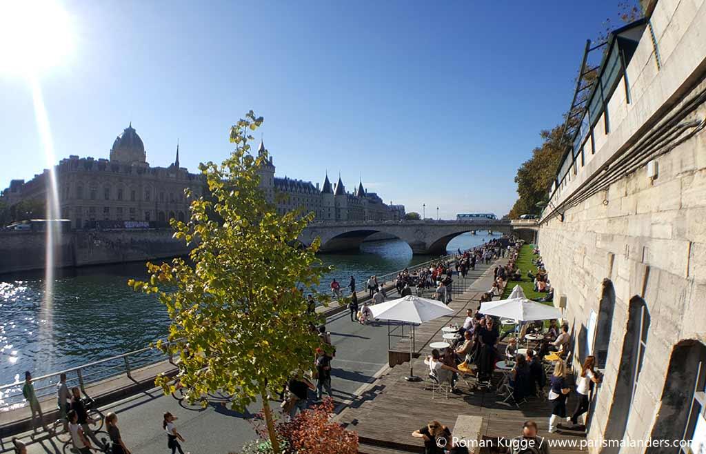 Rechtes Seine-Ufer in Paris autofrei