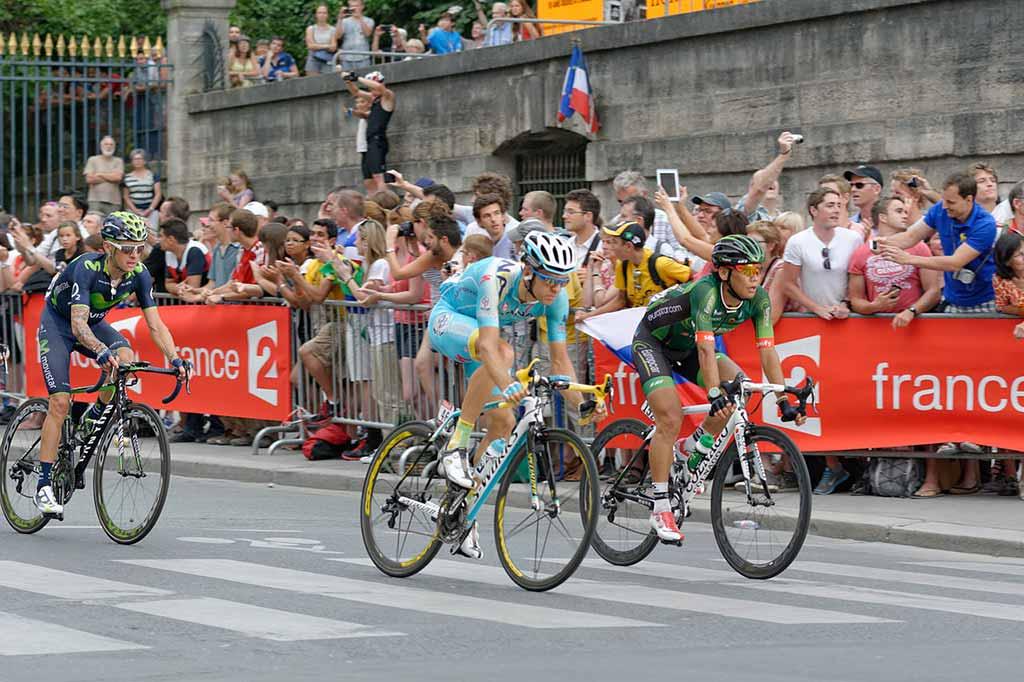 Tour de France letzte Etappe Paris Champs-Elysées
