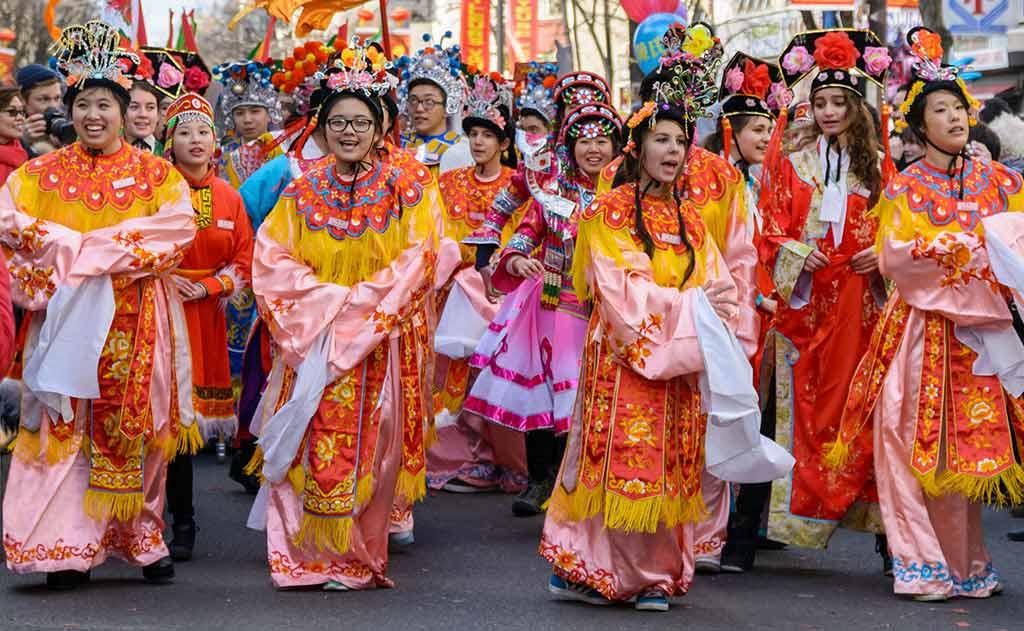 Chinesisches Neujahr Paris Belleville