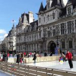 Eislaufen Rathaus Paris