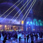 Eislaufen Schlittschuh Grand Palais Paris des Glaces