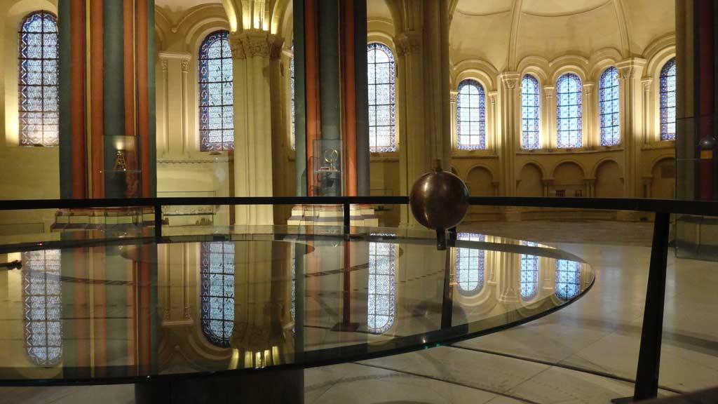 Foucaultsche Pendel Technikmuseum Paris