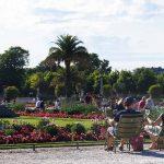 Grünen Stühle Jardin du Luxembourg Paris