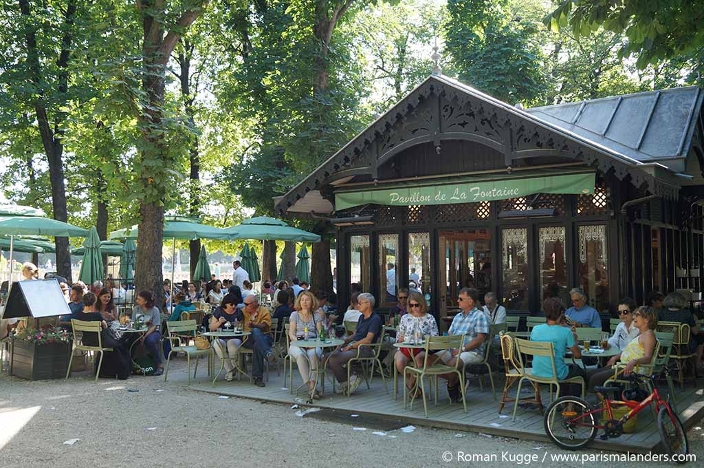 Park jardin du luxembourg in paris paris mal anders for Cafe jardin menu