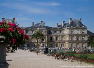 Jardin du Luxembourg Park Paris