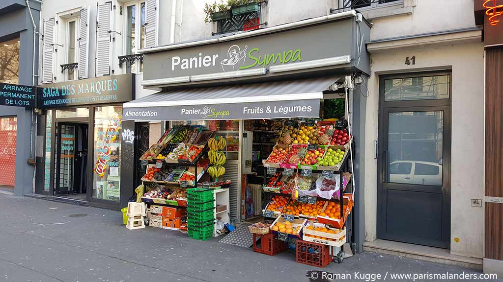 Supermarkt Paris Monoprix