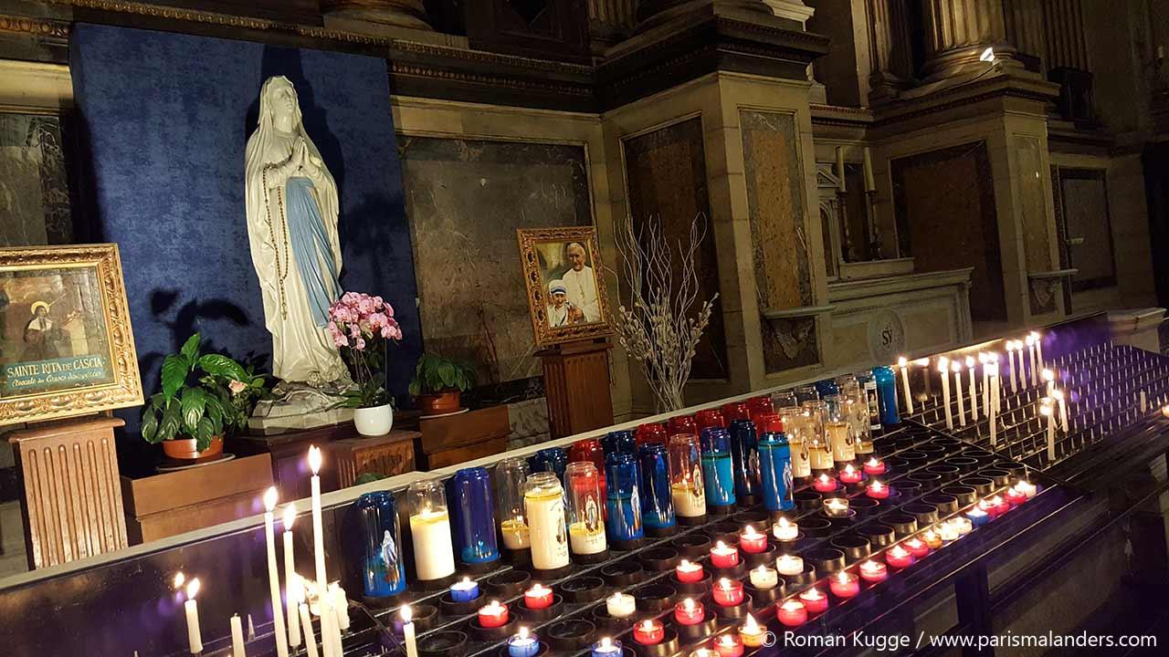 Kirche Eglise de la Madeleine Paris