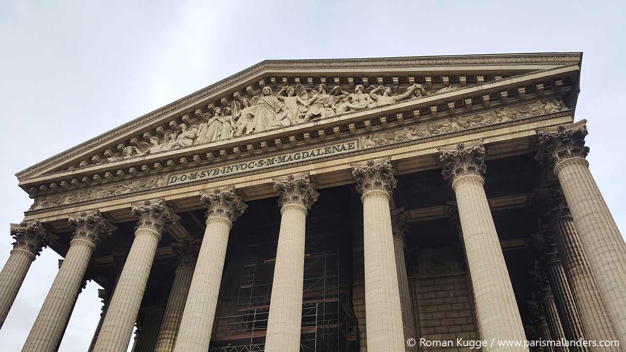Kirche La Madeleine in Paris