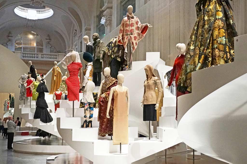 Mode Kollektion Sammlung Kunstgewerbemuseum Paris Arts Décoratifs