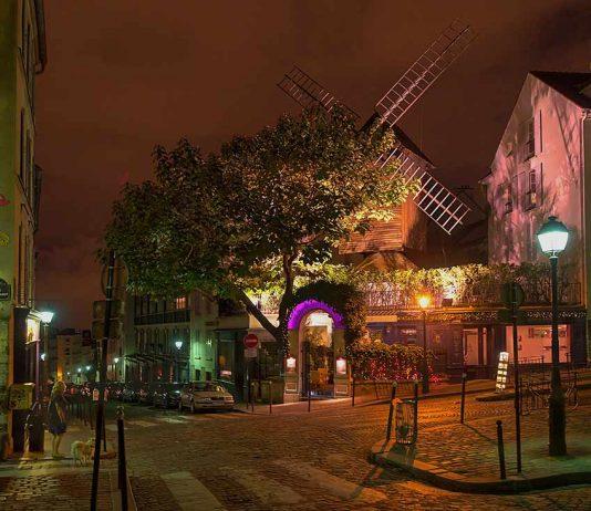Montmartre Windmühle Romantik Paris