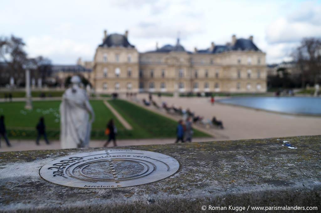 Null Meridian Paris Jardin du Luxembourg