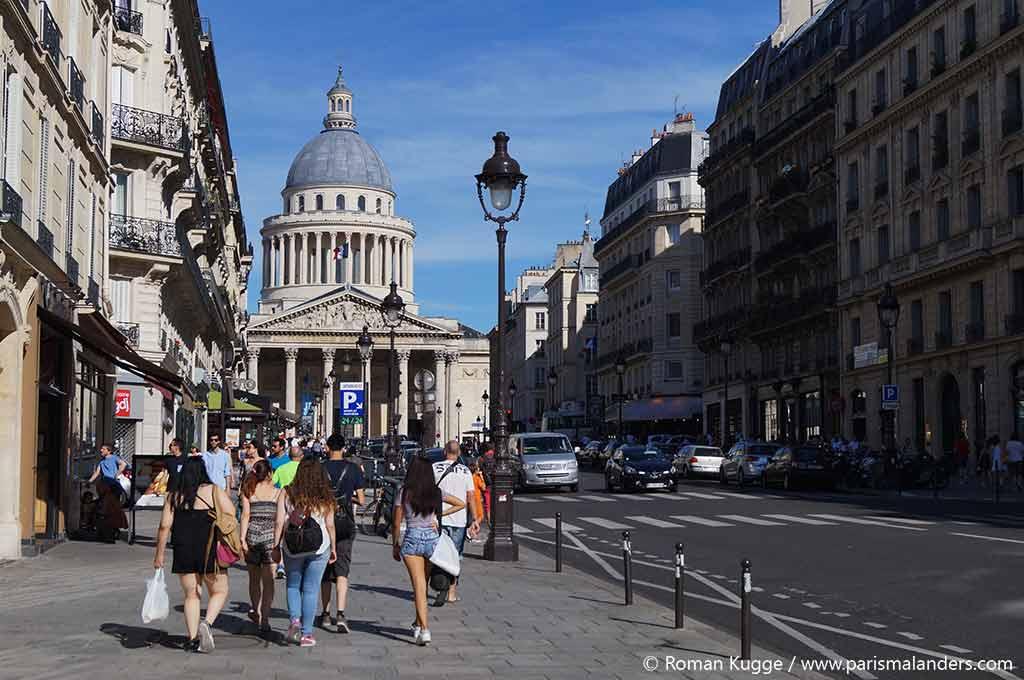 Pantheon Paris neben Jardin du Luxembourg
