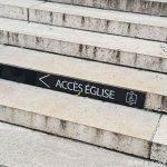 Paris Kirche Madeleine Rollstuhl Behindertengerecht