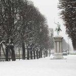 Paris im Schnee Februar